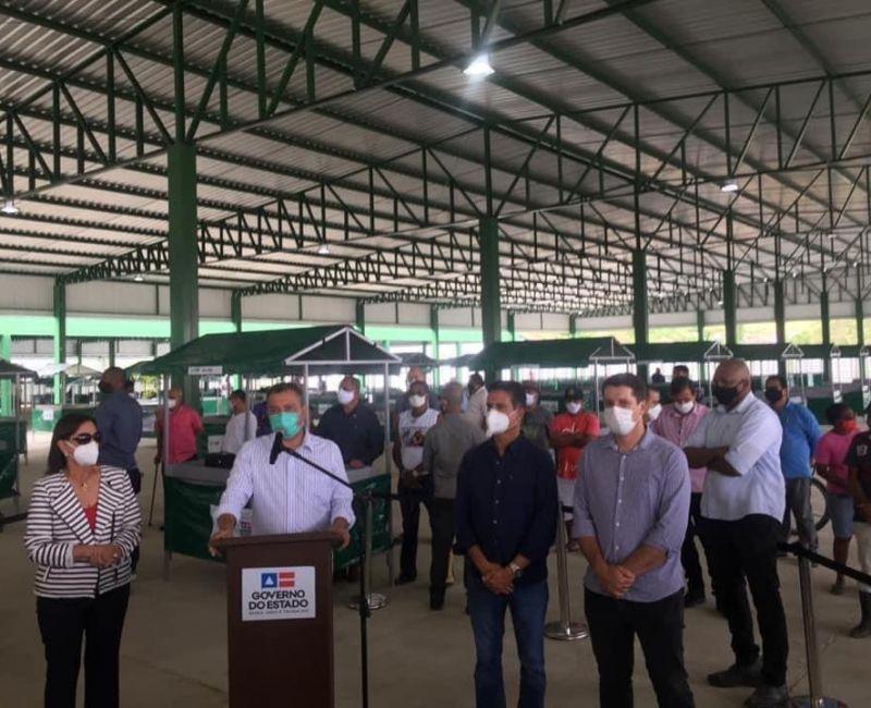 Visita do governador ao município de Ipiaú